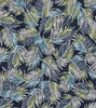 Maywood Studio Turtle Bay Palm Leaves Navy