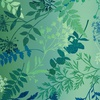 Studio E Fabrics Woodland Wonders Wildflower Ombre Navy