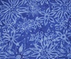 Northcott Banyan Batiks Boho Beach Flowers Dark Blue