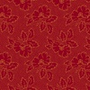 Andover Fabrics Secret Stash - Warms Silhouette Floral Red