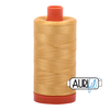 Aurifil Thread Spun Gold