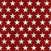 Henry Glass Live Free Stars Red/White
