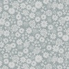 Andover Fabrics Top Drawer Tonal Flowers Grey