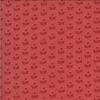 Moda Fabrics La Rose Rouge Latour Faded Red