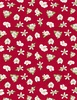 Wilmington Prints Berry Sweet Floral Red