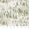 Northcott Lakeside Lodge Flannel Open Trees Pale Gray/Green