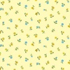 Andover Fabrics Bloom Floral Scatter Yellow