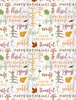 Wilmington Prints Happy Gatherings Word Toss White