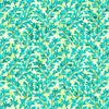 Quilting Treasures Kashmir Leaves Turquoise