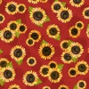 Wilmington Prints Country Road Market Sunflower Red