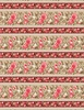 Wilmington Prints Rhapsody In Reds Border