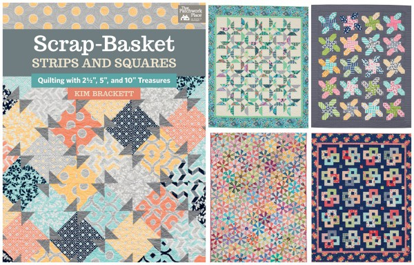 Scrap Basket Strips and Squares by Martingale Publishing