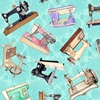 Quilting Treasures Tailor Made Sewing Machines Light Aqua