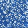 Anthology Fabrics Sky Batik Mini Leaves Blue