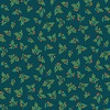 Andover Fabrics Bloom Leaf Spray Teal