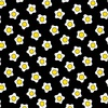 Andover Fabrics The Coop Fried Eggs Black