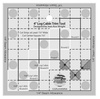 Creative Grids 4 Inch Log Cabin Trim Tool Quilt Ruler
