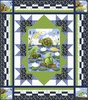 Paul and Sheldon - Water Logged Free Quilt Pattern