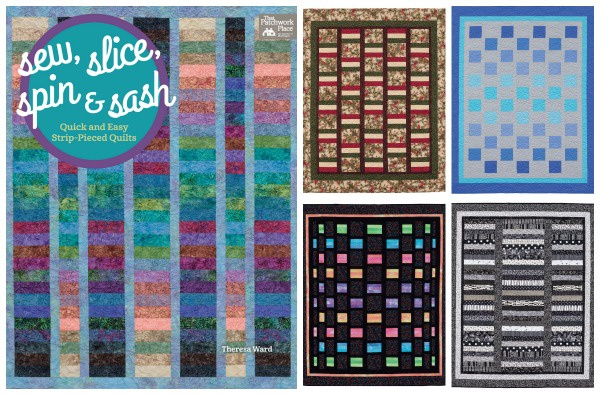 Sew, Slice, Spin, and Sash by Martingale Publishing