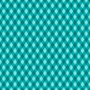 Quilting Treasures Sweet Caroline Diamond Check Dark Turquoise