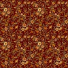 In The Beginning Fabrics Garden Delights III Delicate Blooms Red