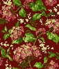 Maywood Studio Lexington Hydrangea and Berries Red