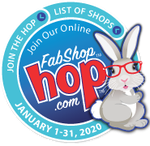 January 2020 Shop Hop Bunny