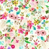 3 Wishes Fabric Bloom With Grace Floral
