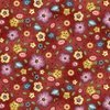 Michael Miller Fabrics Born To Sew Background Bouquet Red