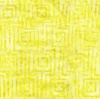 Maywood Studio Bejeweled Batiks Stitched Squares Yellow