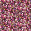 Andover Fabrics Bloom Packed Flowers Pink