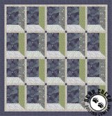 Bluebell Wood Free Quilt Pattern by Lewis and Irene Fabrics