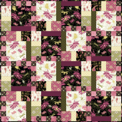 Aubrey Quilt pattern by Studio E Fabrics at Bear Creek Quilting Company