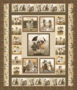 Best Friends Forever Quilt Pattern by Elizabeth Studio at Bear Creek Quilting Company