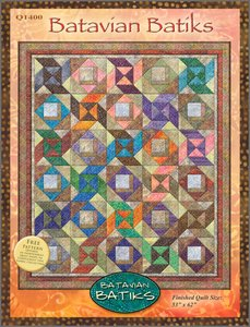 Batavian Batiks Quilt Pattern by Wilmington Prints at Bear Creek Quilting Company