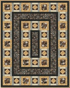 Honeybell Quilt Pattern by Blank Quilting at Bear Creek Quilting Company