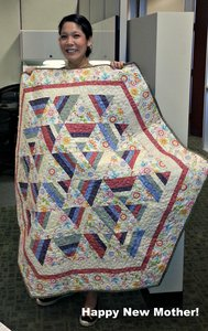 Joann's Baby Quilt by Bear Creek Quilting Company