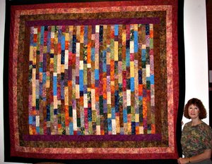 Custom quilt by Bear Creek Quilting Company