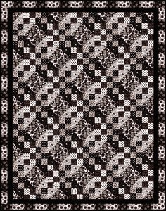 Opposites Attract Quilt Pattern by Blank Quilting at Bear Creek Quilting Company
