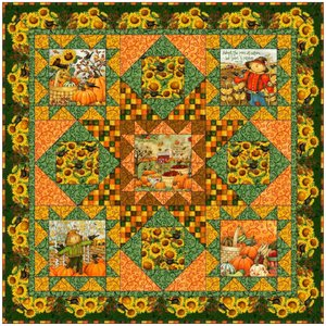 A Time to Harvest Quilt Pattern by SPX Fabrics at Bear Creek Quilting Company