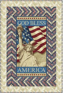 Stars and Stripes Quilt Pattern by Northcott at Bear Creek Quilting Company