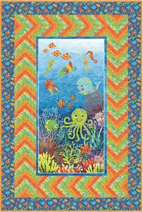 Undersea Adventure Free Quilt Pattern by Northcott at Bear Creek Quilting Company
