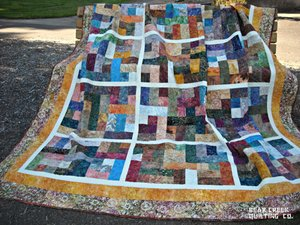 Nature's Colors Quilt by Bear Creek Quilting Company