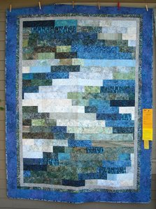 Oregon Batik Waterfall Quilt by Bear Creek Quilting Company