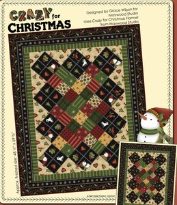 Crazy for Christmas Quilt Pattern