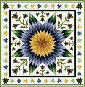 Tulip Time Quilt Pattern