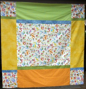 Alphabet Soup Quilt by Bear Creek Quilting Company for Henry Glass