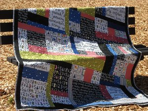 Calendar Quilt by Bear Creek Quilting Company for Ampersand Design Studio