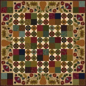 Hearthside Seasons-Autumn by Henry Glass Fabrics