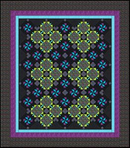 Flower Power Quilt Pattern by Batik Textiles